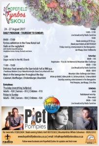 2017 Fynbos show programme
